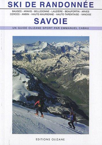 9782880863913: Ski de randonnée Savoie