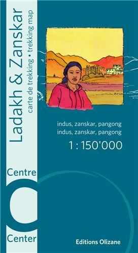 CARTE LADAKH ZANSKAR CENTRE NED 2013: CARTE DE TREKKING