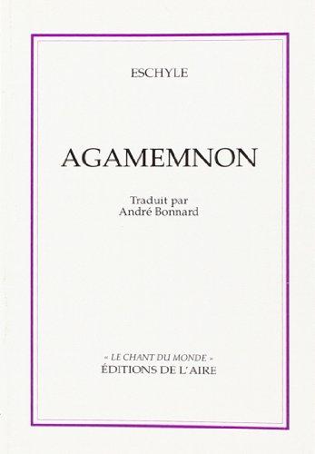 9782881080845: Agamemnon