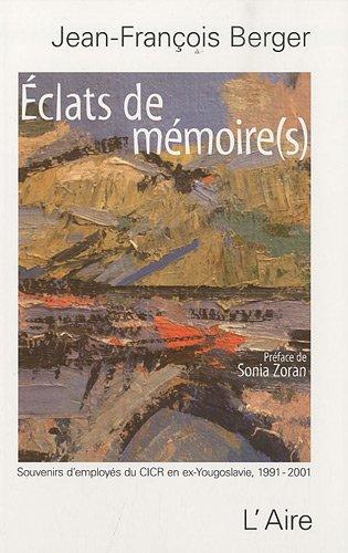 9782881089176: Eclats de memoire(s) (French Edition)