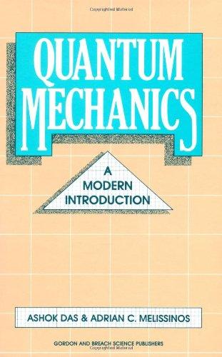 9782881240539: Quantum Mechanics: A Modern Introduction