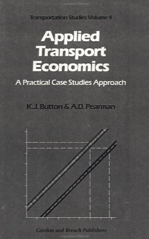 9782881240614: Applied Transport Economics (Transportation Studies) (Vol 4)