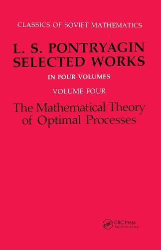 Mathematical Theory of Optimal Processes: L.S. Pontryagin