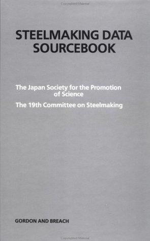 9782881241536: Steelmaking Data Sourcbk:19th