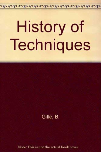9782881241550: History of Techniques
