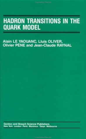 9782881242144: Hadron Transitions of the Quark Model