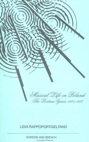 Musical Life in Poland (Musicology)