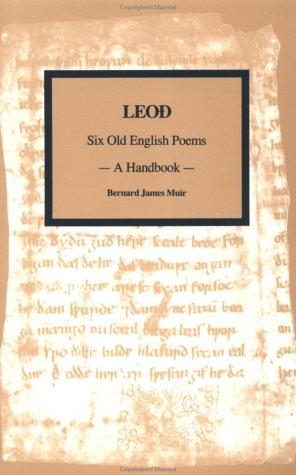 9782881243578: Leod: Six Old English Peoms -