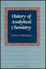 9782881245695: History of Analytical Chemistry (Classics in the History and Philosophy of Science)
