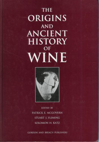 9782881245770: The Origins and Ancient History of Wine
