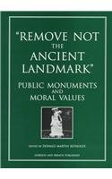 9782881246029: Remove Not/Ancient Landmark:Pu (Documenting the Image)