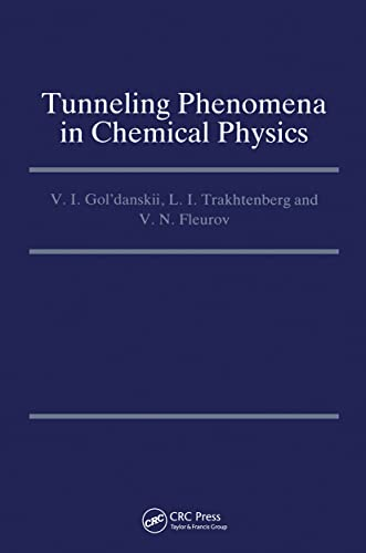 9782881246555: Tunneling Phenomena in Chemical Physics