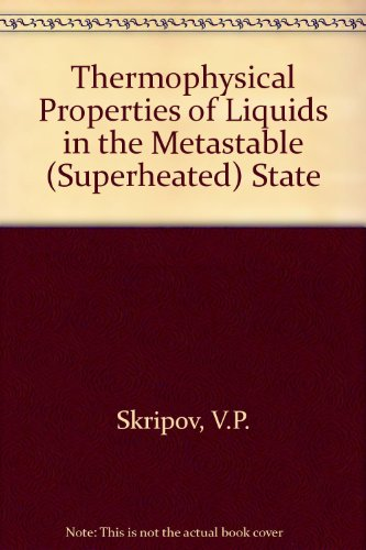 9782881246562: Thermophysical Propert Liquid (Superheated State)