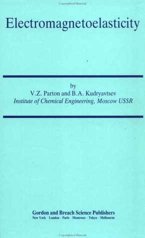 9782881246715: Electromagnetoelasticity: Piezoelectrics and Electrically Conductive Solids