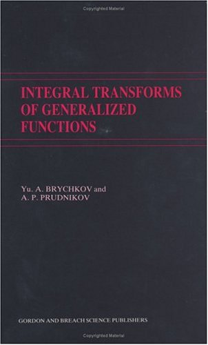 9782881247057: Integral Transforms of Generalized Functions