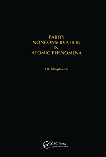 Parity Nonconservation in Atomic Phenomena: Khriplovich