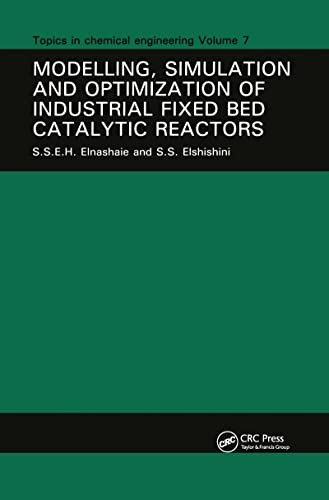 9782881248832: Modelling, Simulation and Optimization of Industrial Fixed Bed Catalytic Reactors (Topics in Chemical Engineering)