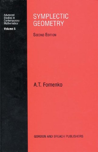 Symplectic Geometry (Advanced Studies in Contemporary Mathematics, Band 5). - Fomenko, A. T.