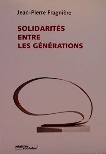 9782881461385: solidarités entre les générations