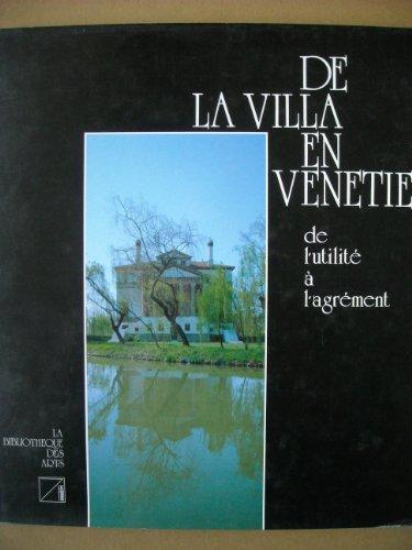 9782881740008: De la villa en Vénétie