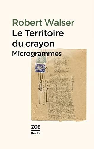 9782881828973: Le territoire du crayon : Proses des microgrammes