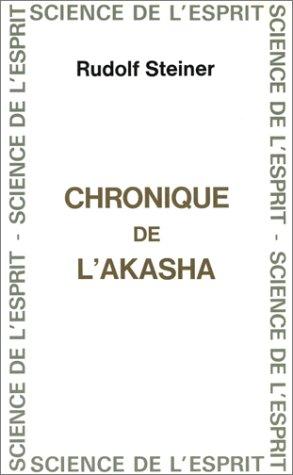 9782881890512: Chronique de l'Akasha