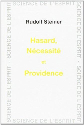 9782881891847: Hasard, nécessité et providence