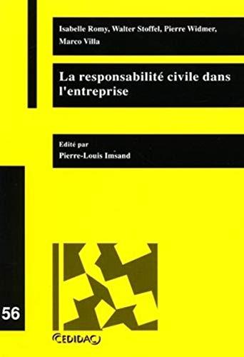 la responsabilité civile de l'entreprise: Isabelle Romy