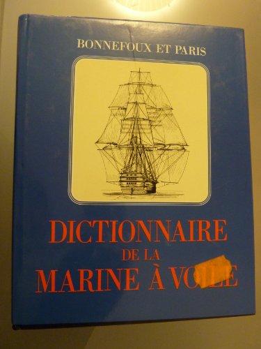 9782882120106: Dictionnaire de la marine � voile