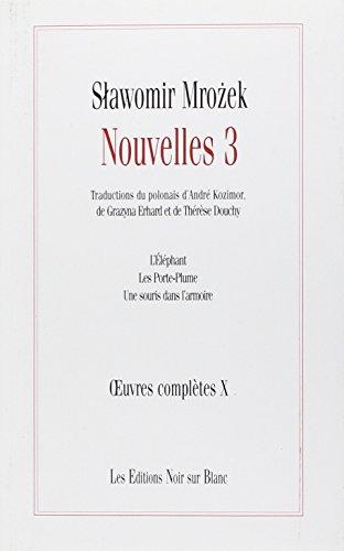 9782882501073: Nouvelles 3