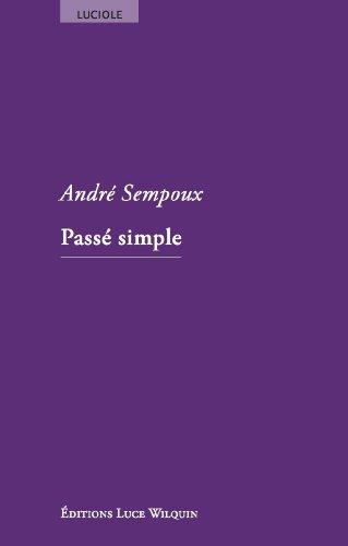 Passé simple: André Sempoux