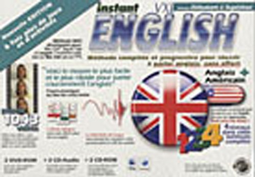 9782882591616: Instant English VXL M�thode Complete (niveaux 1 � 4) - DVD ROM MAC Version 2008