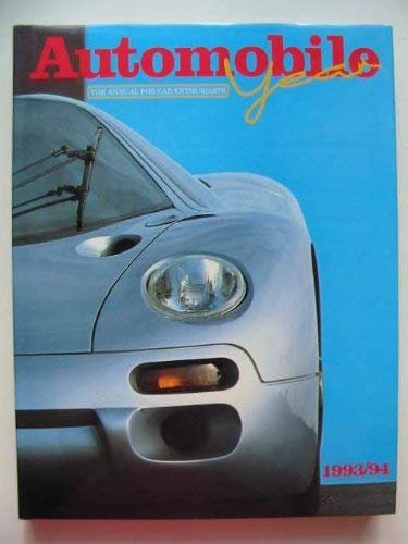 AUTOMOBILE YEAR 1993/94 NO. 41: Norris, Ian, editor