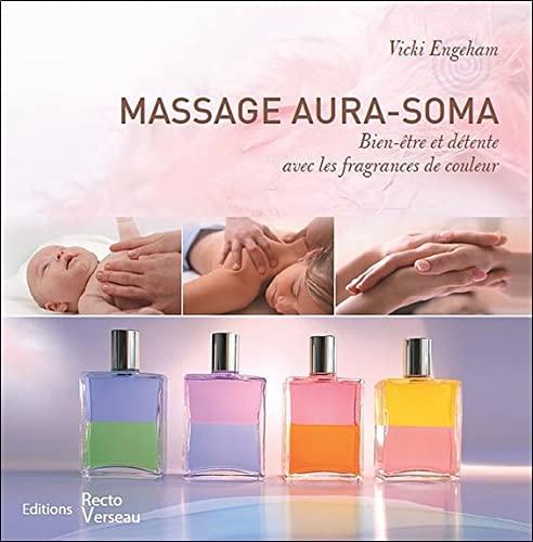 9782883432208: Massage aura-soma - bien-être et detente avec les fragrances de couleur