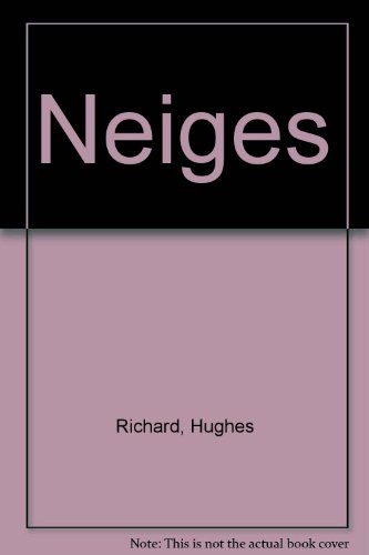 9782883820609: Neiges (French Edition)