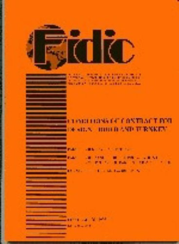 9782884320108: FIDIC Conditions of Contract for Design, Build and Turnkey: Orange: Orange Book