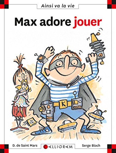 9782884454957: Max Adore Jouer (49) (French Edition)