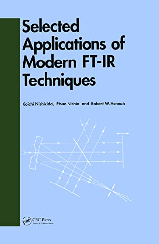 9782884490733: Selected Applications of Modern FT-IR Techniques
