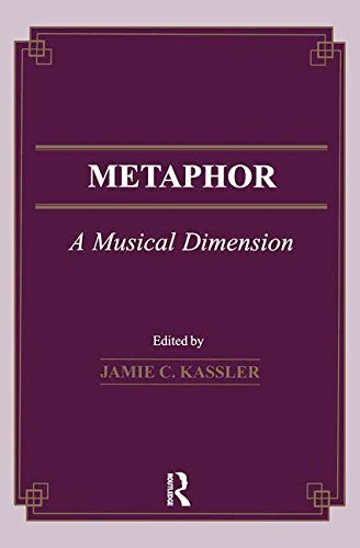 9782884491365: Metaphor: A Musical Dimension (Musicology)