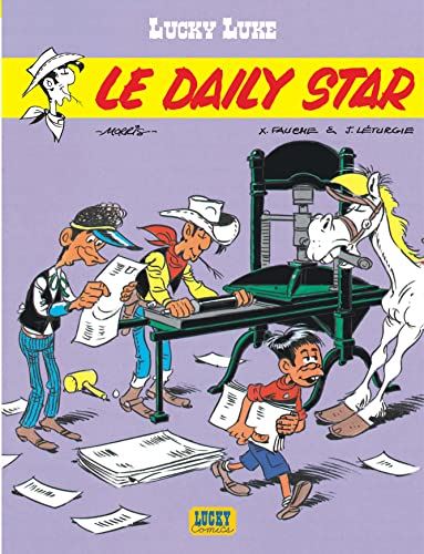9782884710381: Lucky Luke, tome 23 : Le Daily Star