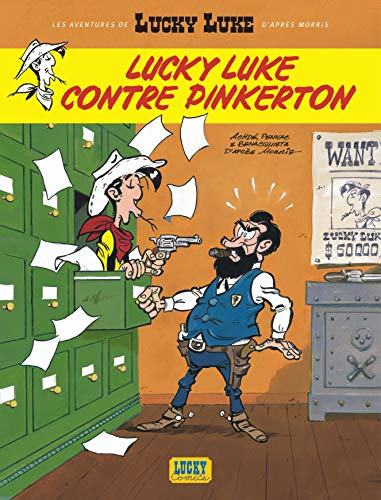 9782884712576: Lucky Luke Contre Pinkerton: Nouvelles Aventures De Lucky Luke Tome 4 (French Edition)
