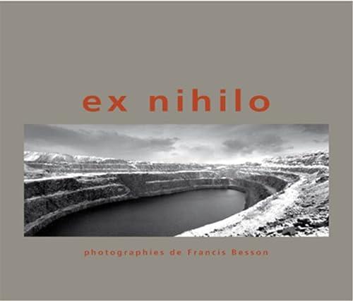 9782884740449: Ex Nihilo