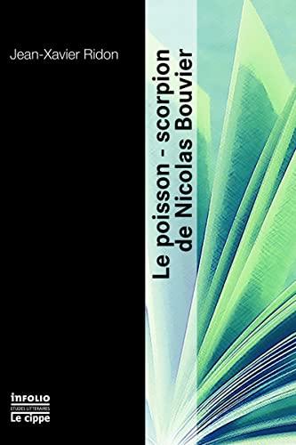 9782884743136: Le poisson-scorpion de Nicolas Bouvier