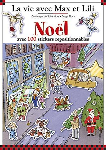 9782884806367: Noël avec 100 stickers repositionnables