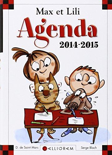 9782884806817: Agenda Max et Lili 2014-2015