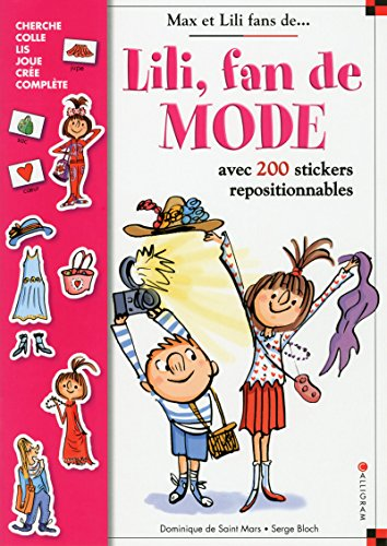 9782884806831: Lili fan de mode : Avec 200 stickers repositionnables