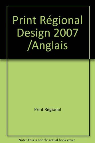 9782888930341: PRINT REGIONAL DESIGN 2007 /ANGLAIS