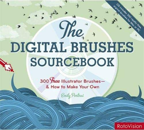 9782888930914: The Digital Brushes Sourcebook: 300 Royalty-free Illustrator Brushes - And How to Make Your Own