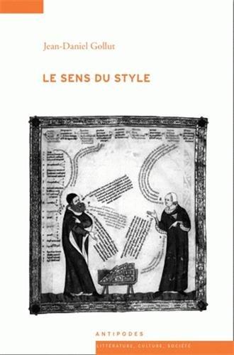 LE SENS DU STYLE: GOLLUT, JEAN-DANIEL