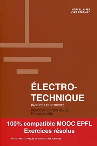 9782889150502: Electrotechnique : Bases de l'électricité